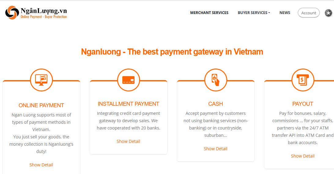 NganLuong Payment Gataway